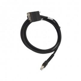 Cablu conexiune RS-232 Zebra cititor coduri de bare DB9 2m