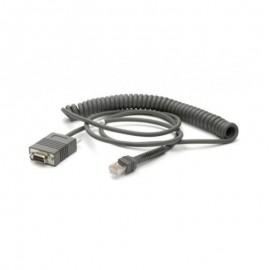 Cablu conexiune RS-232 Zebra cititor coduri de bare DB9 2.7m