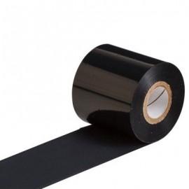 Ribon compatibil rasina negru pentru textile 110mm x 200m