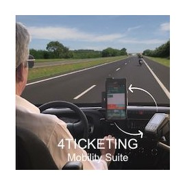 Software Card4b – 4TICKETING Mobility Suite pentru terminal mobil Zebra TC20