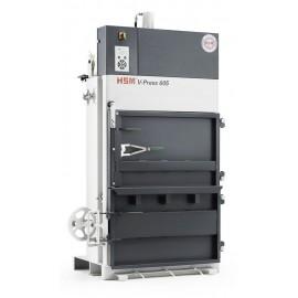 Presa verticala de balotat deseuri HSM V-Press 605 1x230V