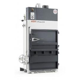 Presa verticala de balotat deseuri HSM V-Press 610