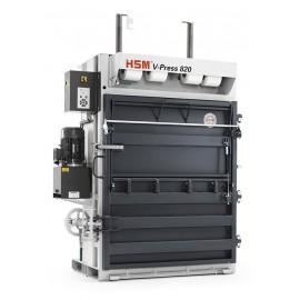 Presa verticala de balotat deseuri HSM V-Press 820