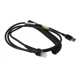Cablu USB cititor coduri de bare Honeywell 3m negru