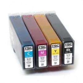 Cartus toner cyan imprimanta etichete TSC CPX4D