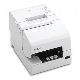 Imprimanta de bonuri Epson TM-H6000V MICR USB Ethernet RS-232 alba
