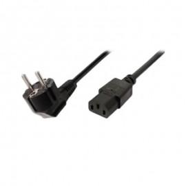 Cablu alimentare C13 1.8m negru 3 pini cu impamantare