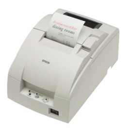 Imprimanta de bonuri Epson TM-U220A RS-232 cutter alba