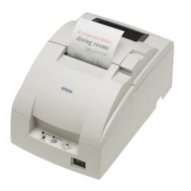 Imprimanta de bonuri Epson TM-U220D RS-232 tear-bar alba
