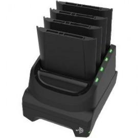 Cradle incarcare acumulator tableta Zebra ET50, ET51, ET55, ET56 4 sloturi negru