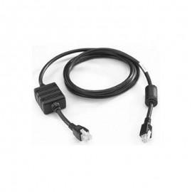 Cablu DC sursa alimentare Zebra cradle multi-slot negru