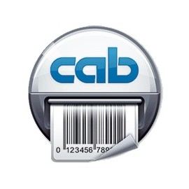 Rola etichete Cab albe 100x20mm 2500buc.