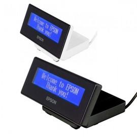 Afisaj pentru client Epson DM-D30 USB cu stand alb