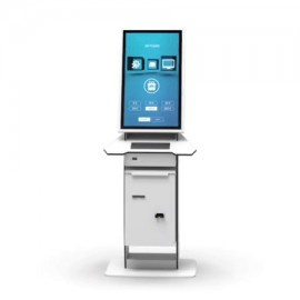 Kiosk customizabil Pyramid POLYTOUCH 32 CURVE Temperature Scan