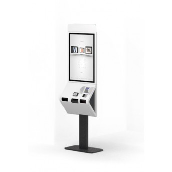 Kiosk customizabil Pyramid POLYTOUCH 32 PASSPORT