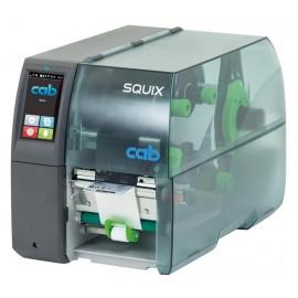 Imprimanta de etichete Cab SQUIX 4.3M 203DPI cu peel-off aliniere mijloc