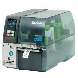 Imprimanta de etichete Cab SQUIX 4MT 300DPI destinata materialelor textile