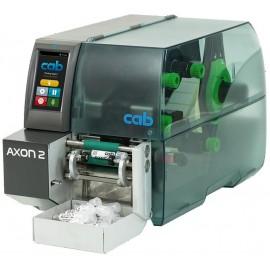Imprimanta de etichete Cab AXON 2 TT 300DPI aliniere mijloc