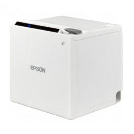 Imprimanta de bonuri mPOS Epson TM-m30II 203 DPI USB Ethernet alba