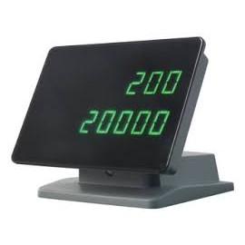 Display extern pentru echipamentele de numarat bancnote Glory