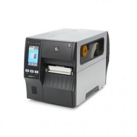 Imprimanta de etichete Zebra ZT411 USB RS-232 Bluetooth Ethernet 203DPI peeler, rewinder