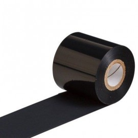 Ribon compatibil rasina negru pentru textile 43mm x 200m AGT85