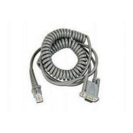 Cablu conexiune RS-232 spiralat Datalogic pentru cititor coduri de bare 3.66m