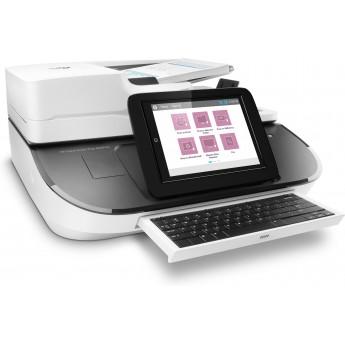 Scaner A4 HP Digital Sender Flow 8500 fn2 cu alimentator 150 coli