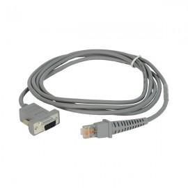 Cablu conexiune RS-232 cititor coduri de bare Datalogic MAGELLAN 3410VSi, 3450HSi, 3510HSi, 3550HSi, 9300i, 9400i, 9800i 4.5m