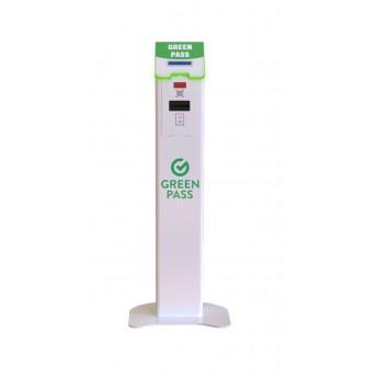 Kiosk configurabil Custom GREENMATE pentru verificarea certificatului verde electronic COVID-19
