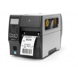Imprimanta de etichete Zebra ZT410 300DPI cu peeler si rewinder