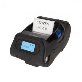 Imprimanta mobila de etichete Citizen CMP-25L BT 203DPI